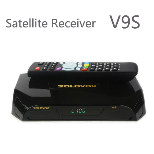 New Arrival 2pcs SOLOVOX V9S DVB-S2 HD Satellite Receiver Support USB Port WEB TV CCCAMD NEWCAMD Miracast IPTV Box Set Top Box de it es channels dvb s s2 satellite fta lines 1 year cccam clines newcamd usb wifi satellite tv receiver for free shipping