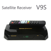 New Arrival 2pcs SOLOVOX V9S DVB-S2 HD Satellite Receiver Support USB Port WEB TV CCCAMD NEWCAMD Miracast IPTV Box Set Top Box