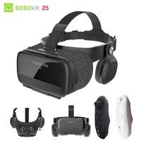 BOBOVR Z5 3D Stereo Glasses VR Cardboard Virtual Reality Glasses VR Headset Helmet Cardboard for 4.7 6.2'in Mobile Phone