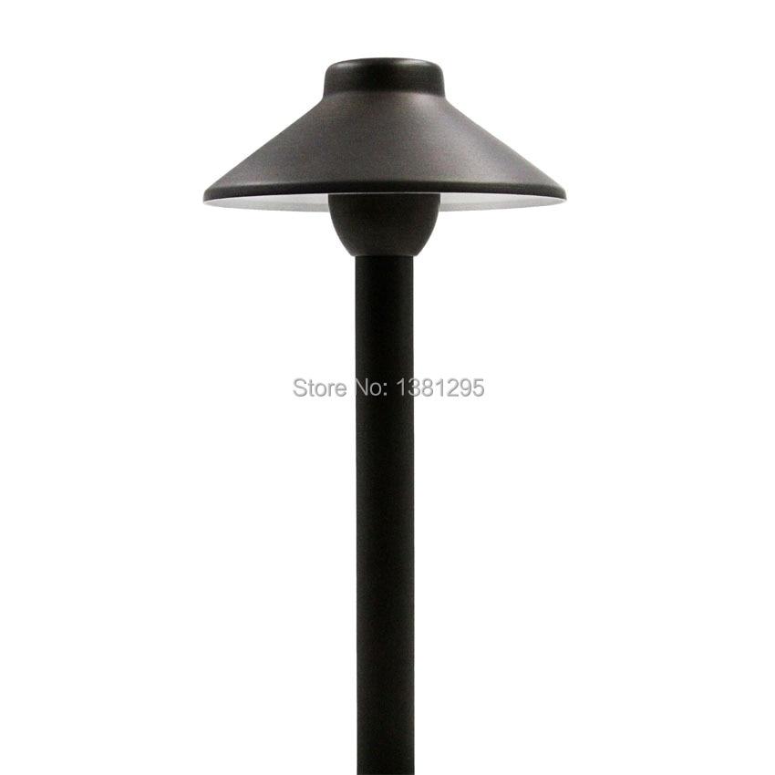 12V Outdoor Landscape Yard Garden Lawn Path Light Waterproof LED Lawn Lamp Pathway Lighting G4 Cast