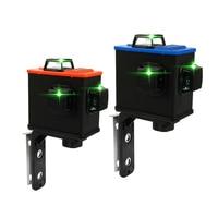 KKMOON DIY Kit Medidor de Nível A Laser Multifuncional Projetor de Alta Precisão Scanister 3D com 12 Linhas Verdes|Níveis de laser| |  -
