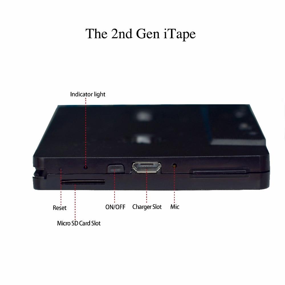 Le plus récent sans fil iTape CSR Bluetooth V4.0 + EDR stéréo Audio lecteur de Cassette adaptateur récepteur peut fonctionner tout en chargeant pour le pont de voiture-in Sans fil Adaptateur from Electronique    2