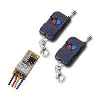 DC 3 5V 12V Remote Control Switch Wireless Remote Switch System Radio ON OFF Micro Wireless