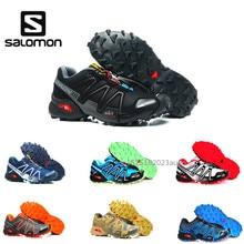 Salomon Скорость Крест 3 Cs III мужские кроссовки Professional открытый мужской Flywrite Спортивная дышащая обувь скорость croos