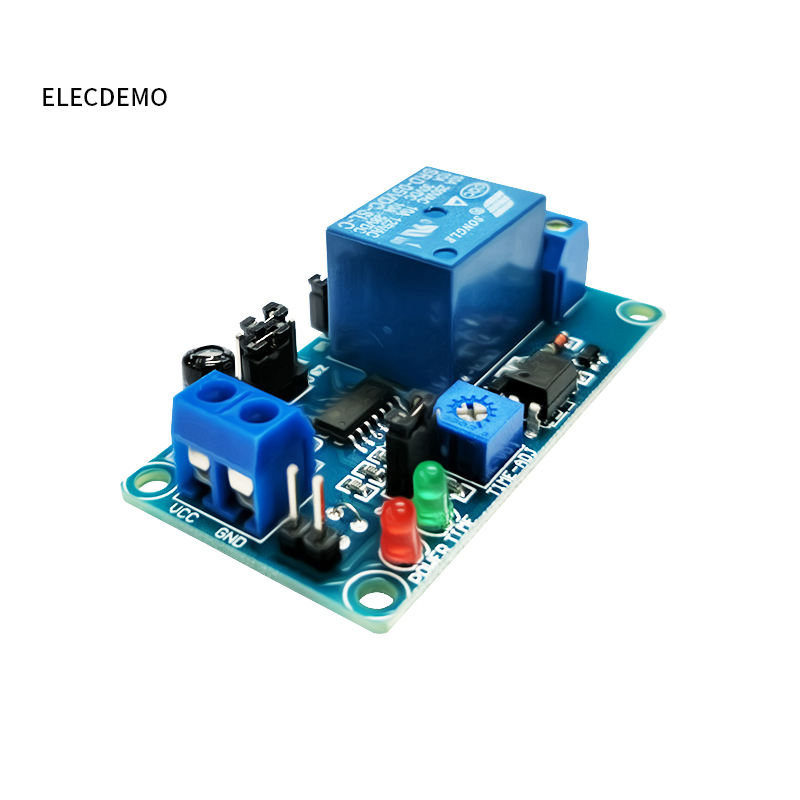 Image 3 - 5V12V normally open trigger delay circuit relay module timing vibration alarm optocoupler isolation Function demo Board-in Demo Board Accessories from Computer & Office