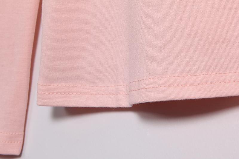 HTB1pFYyMVXXXXbwXpXXq6xXFXXX0 - Autumn T Shirt Women Long Sleeve Slim Fit Solid