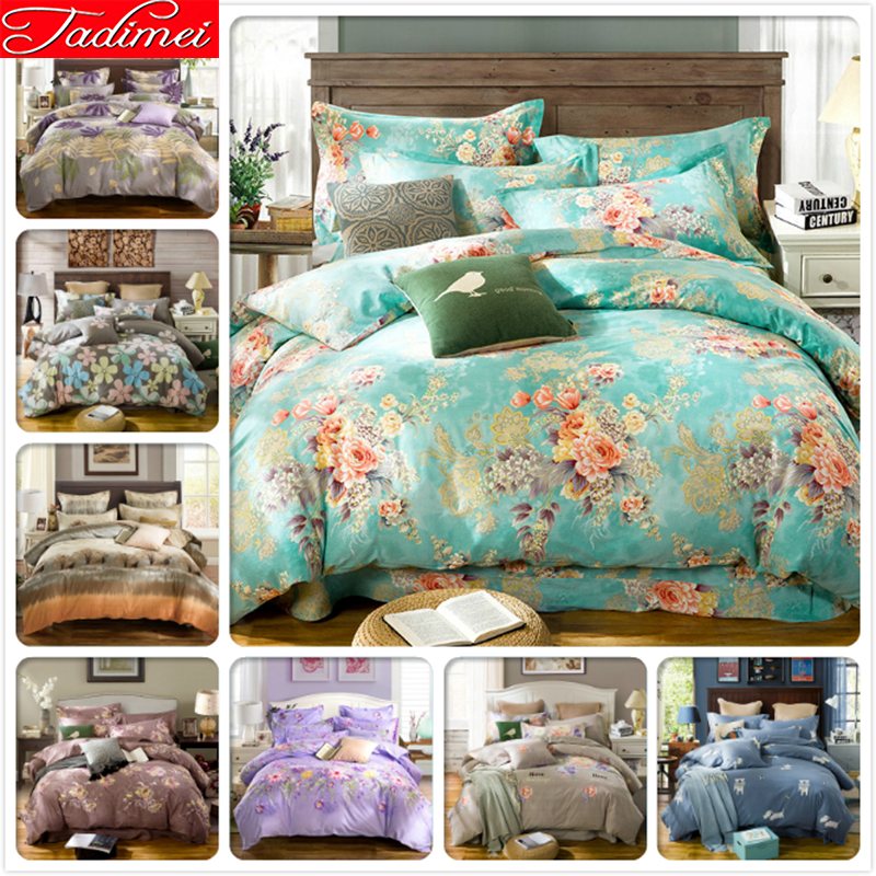100% Cotton Duvet Cover Fitted Sheet 3/4 pcs Bedding Set 1.2m 1.5m 1.8m Bedspreads Adult Child Bed Linen Single Queen King Size100% Cotton Duvet Cover Fitted Sheet 3/4 pcs Bedding Set 1.2m 1.5m 1.8m Bedspreads Adult Child Bed Linen Single Queen King Size