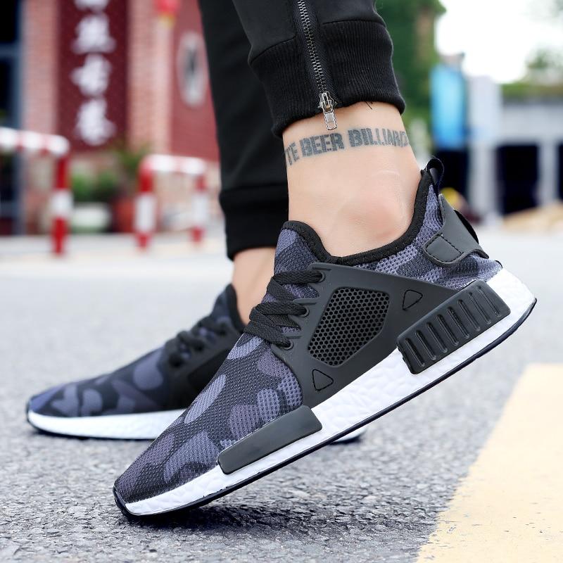 2018 Новые повседневные модные мужские кроссовки модные дышащие удобные Размер 39-47 босоножки дешевая обувь для мужчин весна-осень открытый