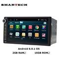2 Г ROM Android 6.0 Авторадио 2Din 7 Дюймов Экран Стерео GPS для Nissan Qashqai Kia Toyota Головное Устройство Автомобиля Радио Bluetooth wifi