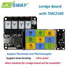 "3 DSWAY Junta Impresora 3D Junta Módulo Termistor y Termopares TMC2100 Lerdge 3.5 ""de Pantalla Táctil para Delta Impresora 3D Kit"