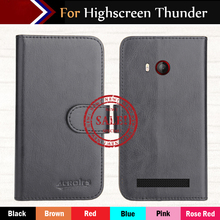 все цены на Factory Direct! Highscreen Thunder Case 6 Colors Dedicated Ultra-thin Leather Exclusive 100% Special Phone Cover Cases+Tracking онлайн