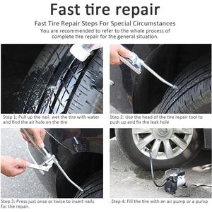 Image 4 - 2nd Generation Upgraded Car Tire Repair Kit Inner Tire Rubber Strip Emergency Vacuum Tire Fast Repair Tool Match Long Strip Fill