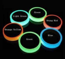 2cm*1M Luminous Tape Self-adhesive Glowing Night /Dark Safety Stage Striking Warning Safety Tape