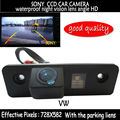 SONY CCD Retrovisor Do Carro Reversa Estacionamento Backup Color Camera com a linha de estacionamento para Volkswagen SKODA FABIA ROOMSTER OCTAVIA TOUR