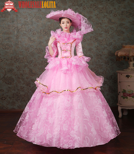 e99ae13b7ef36 Top Sale Gothic Period Dress Ball Gown 18th Century Court Dress / Ladies' Victorian  Dresses /Southern Belle Ball Gown