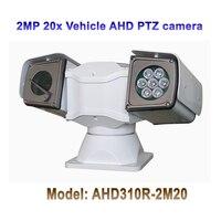 Vender 1080p 2mp 20x zoom óptico IR 100M AHD PTZ cámara para el sistema de vigilancia montado