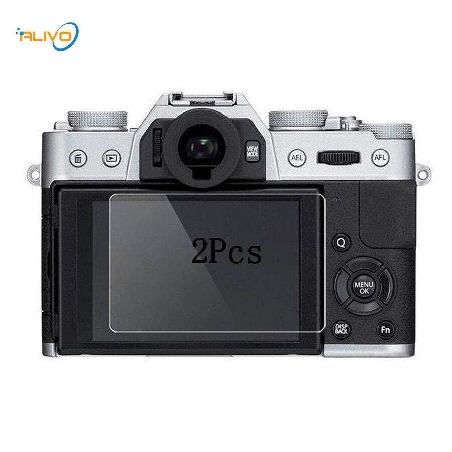 ALIVO 2Pcs HD Tempered LCD Screen Protector for Fuji X-T10 X-T20 fujifilm X-70 X-T1/T2 X-A3 Digital Camera Toughened Glass Film