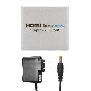 Image 3 - HDMI ספליטר 1 ב 2 החוצה, Atolla ספליטר Ver 1.4 HDCP תואם DC/5 V, 2 יציאת HDMI תומך 4 K Ultra HD, 1080 P, 3D, HDMI Switcher