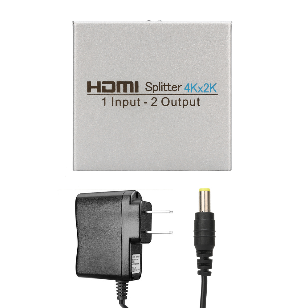 Image 3 - HDMI Splitter 1 in 2 out,Atolla Splitter Ver 1.4 HDCP compatible DC/5V, 2 Port HDMI Supports 4K Ultra HD,1080P,3D, HDMI Switcher-in Memory Card Adapters from Computer & Office