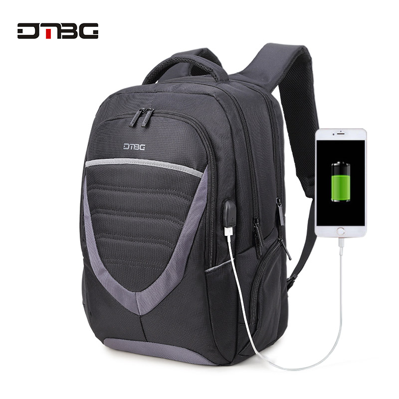 DTBG Brand Laptop Backpack Anti-theft Women Mens Bags Multifunction Shoulder School Travel Backpack with External USB Charging