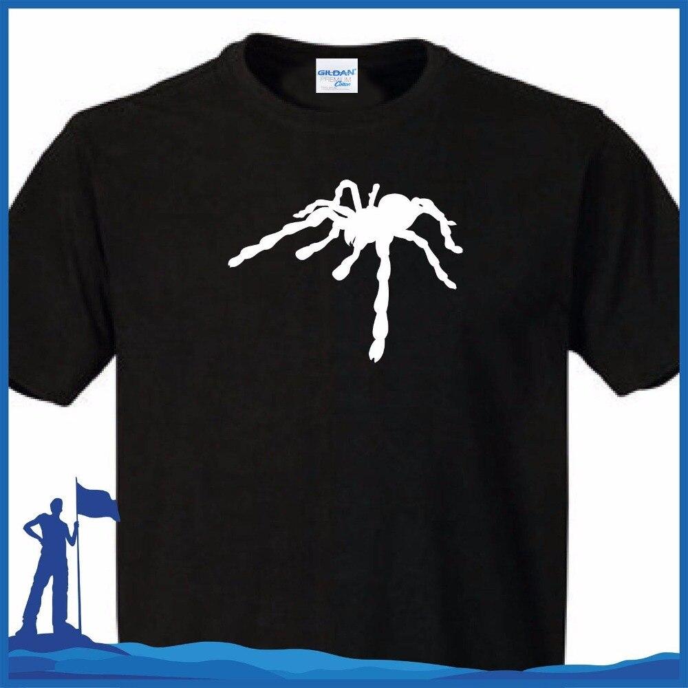 Crew Neck Mannen Korte Mouwen O-hals Oversize Stijl Tee Shirts Stijlen T-shirt Spinne Tarantula Spider Tatoo 3d Print Tee Shirt Limpid In Zicht
