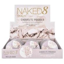 Makeup Pressed Powder Moisturizing Waterproof Oil Control Concealer Face Contour Palette MH88 цена 2017