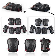 Sports Safety LKP Knee Elbow Wrist Protective Suit Pads for SEBA Skating Skateboard Scooter Kids Adults Anti-knock Guard Pad