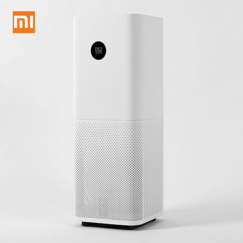 Xiaomi Mi Air Purifier Pro Air Cleaner Health Humidifier Smart OLED CADR 500m3/h 60m3 Smartphone APP Control Household Hepa Filt new original xiaomi air purifier pro oled display screen laser particle sensor 500m3 h particulate matter cadr for 60m3
