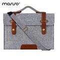 Mosiso feltro de lã lady ombro saco caso bolsa bolsa maleta mensageiro dos homens laptop para macbook/asus/hp/dell 11 13 13.3 14 15.6