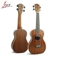 Mcool 23 pouces Concert Ukelele Ukulele artisanat Sapele bois acoustique Uke sculpture Doraemon Hawaii Mini guitare