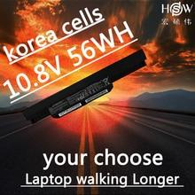 HSW NEW  battery A32-K53 for Asus X84C X84S X84SL X84HR X44HO K53SJ K53SD K53SV K53T K53TA K53U K43B K43BY K43E bateria for asus k53e k53ta k53u k53t k53br k53by k53sd k50i new led wxga hd laptop lcd screen
