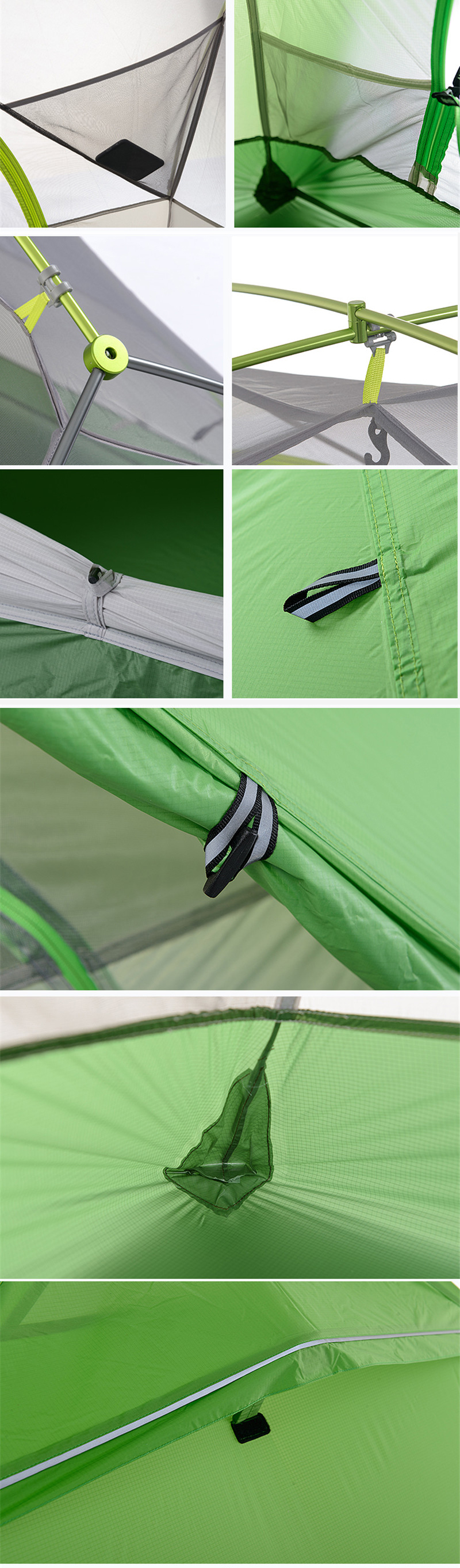 be562987e0f Naturehike Star River Tent 20D Silicone Fabric Ultralight 2 Person ...