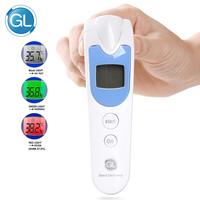 GL Electronic Digital Thermometer Infrared Baby Adult Forehead Non Contact Infrared Thermometer LCD Termometro Infravermelh