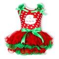 Nuevo Árbol de Chirstmas Kids Girl Dress TUTU Vestido Con el Arco de la Muchacha Del Bebé Niños de La Princesa Ropa Infantil Vestido de Fiesta Infantil vestido