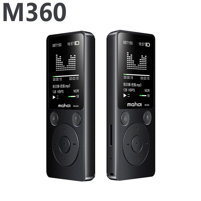 Новый MP3 плеера 1.8 Экран 8 ГБ Встроенный динамик из металла Средства ухода за кожей без потерь аудио ape flac плеер mp3 с fm радио голос Регистратор...