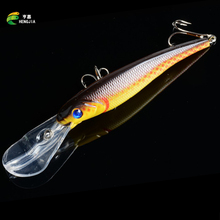 HENGJIA 30g 16.5cm Minnow Fishing Lures Japan Deep swim Saltwater Hard Bait 3D Eyes Plastic Crank Bait Swimbait Sinking Wobbler