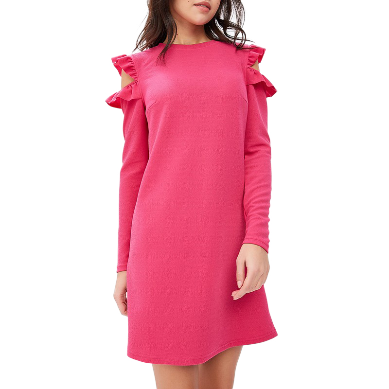 Dresses MODIS M181W00433 women dress cotton  clothes apparel casual for female TmallFS dresses befree 1731075511 woman dress cotton long sleeve women clothes apparel casual spring for female tmallfs