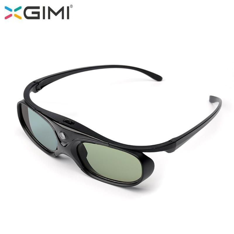 Original XGIMI 3D Glasses DLP Link Active Shutter 3D Glasses G102L For Xgimi H1,Z4 Aurora ,Z4 Air Projectors sg16 dlp 3d active shutter glasses for dlp link projector black