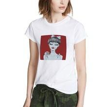 New Cute Comic Girl Angel T Shirt Harajuku Kawaii Summer Streetwear Printed Tshirt Grunge Vogue Clothes(China)