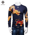 2016 M-5XL O Neck Thin Sweaters Pullovers Hombre Men's Casual Fashion Slim Fit Plus Size Long Sleeved Knitted Sweaters Pullovers