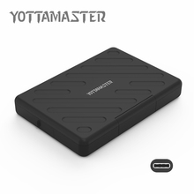 YOTTAMASTER Sata3.0 to USB3.1 HDD External Enclosure For Notebook HDD Hard disk Box SATA Tool Free 2.5 Inch HDD Case (H2511C3)