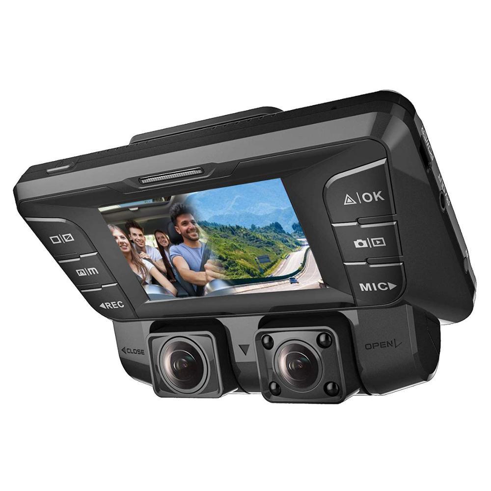 Upgrade 2.7 Car DVR Two Camera FHD 1080P+ FHD 1080P Video Recorder Car Camera With Wifi Dash Cam Black Box Auto Registrators