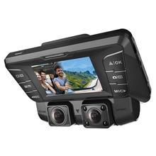 Upgrade 2.7 Car DVR Two Camera FHD 1080P+ 1080P Video Recorder With Wifi Dash Cam Black Box Auto Registrators
