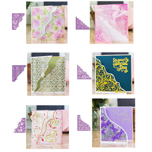 Filigree Lace Floral Vine Ornate Swirls Borders Metal Cutting Dies for DIY Scrapbooking Crafts Paper Cards Making 2019 New