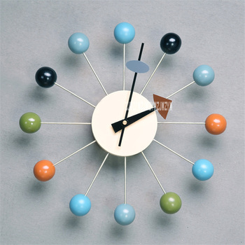 Home Creative Decorative Clock  Living Room Simple Color Candy Personality Clock Bedroom Mute Electronic Wall Clock Hot Selling