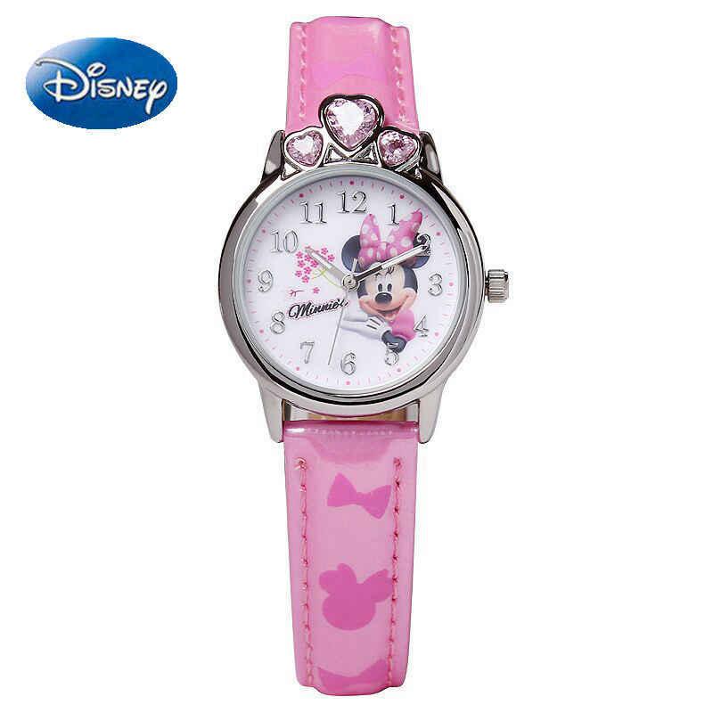 אמיתי מיני סופיה בנות שעונים יהלומי כתר יפה נסיכת ילדים של תלמיד שעון תלמיד חזרה לבית הספר מתנת שעון