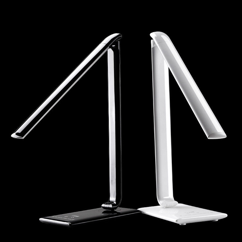 все цены на High Quality LED table lamp desk lamp lampada led Home Office Modern Adjustable intensity Touch Switch desk lamp Reading Light