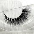 1 par 3D cílios vison 100% real pele de vison Handmade atravessar cílios D012