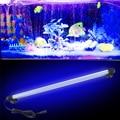 48 CM Luz Da Decoração do DIODO EMISSOR de Luz Do Aquário Submersíveis Underwater 57 LED Lâmpada para Piscina do Tanque de Peixes À Prova D' Água
