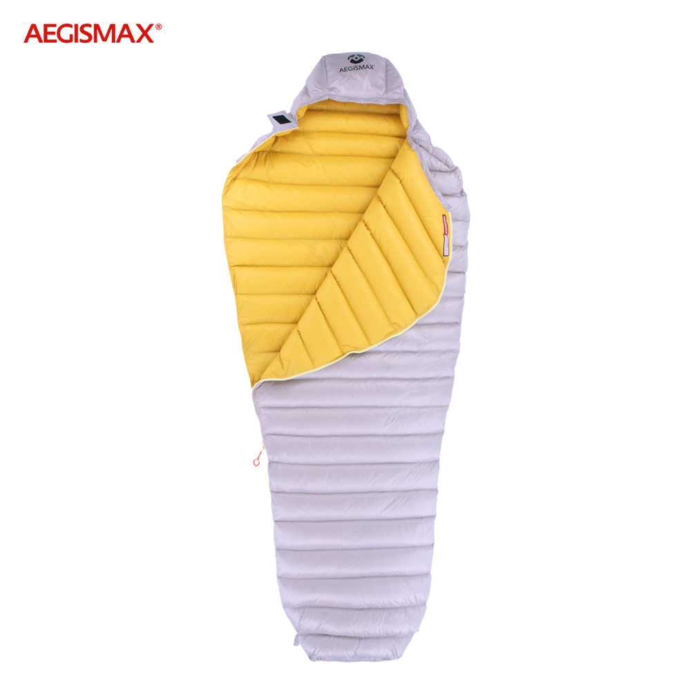 Aegismax ganso branco ultra seco para baixo